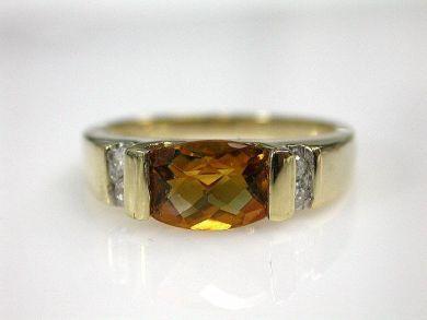 70069-February/Citrine Ring Cynthia Findlay Antiques CFA1210329C