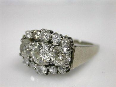 70069-February/Diamond Cluster Cynthia Findlay Antiques CFA130108