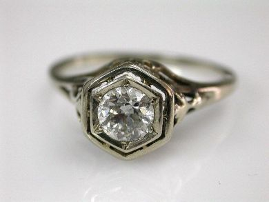 70069-February/Diamond Engagement Ring Cynthia Findlay Antiques CFA1207306