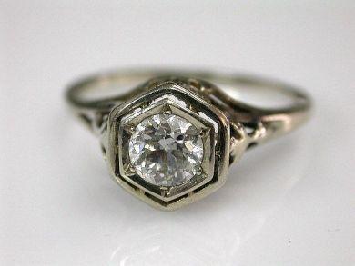 70069-February/Diamond Engagement Ring Cynthia Findlay Antiques CFA1207306