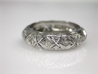 70080-January/Openwork Diamond Band Cynthia Findlay Antiques CFA1212407