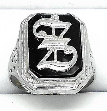 70106-February/Black Onyx Ring Cynthia Findlay Antiques 011113 17