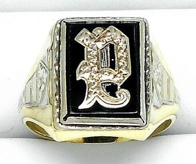 70106-February/Black Onyx Ring Cynthia Findlay Antiques  011113 27