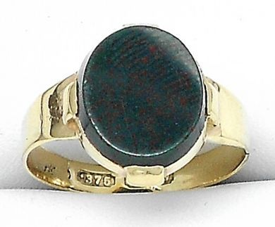 70106-February/Bloodstone Ring Cynthia Findlay Antiques 011113 6