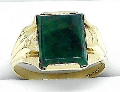 70106-February/Square Bloodstone Ring Cynthia Findlay Antiques 011113 7