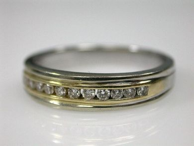 70194-February/Diamond Half Eternity Band Cynthia Findlay Antiques CFA130139