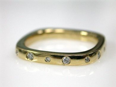 Squared Diamond Band