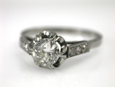 70194-February/Vintage Engagement Ring Cynthia Findlay Antiques CFA130279