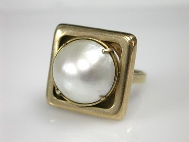 70326-February/Pearl Ring Cynthia Findlay Antiques CFA1301233