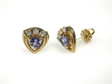 70326-February/Tanzanite Earrings Cynthia Findlay Antiques CFA1301228