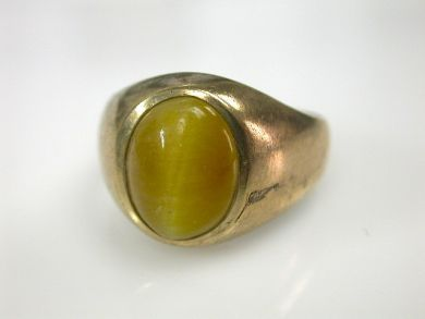 70397-February/Cat Eye Ring Cynthia Findlay Antiques CFA130263