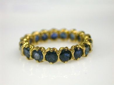 70397-February/Sapphire Eternity Band Cynthia Findlay AntiquesCFA130245