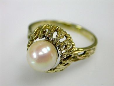 70554-February/Pearl Solitaire Cynthia Findlay Antiques CFA1302115