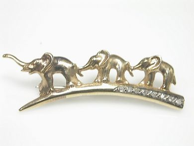 70649-March/Elephant Brooch Cynthia Findlay Antiques CFA130336