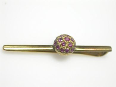 70649-March/Ruby Bar Brooch Cynthia Findlay Antiques CFA130337