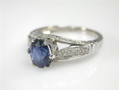 70649-March/Sapphire Engagement Ring Cynthia Findlay Antiques CFA130319