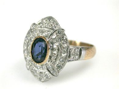 70649-March/Sapphire Ring Cynthia Findlay Antiques CFA130307