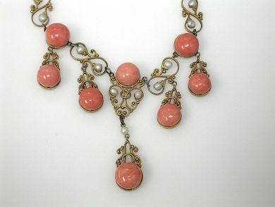 70714-March/Antique Coral Necklace Cynthia Findlay Antiques CFA130386