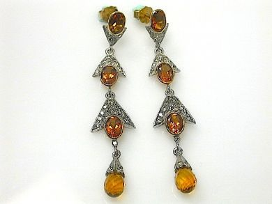 70714-March/Cirine Drop Earrings Cynthia Findlay Antiques CFA1303134C