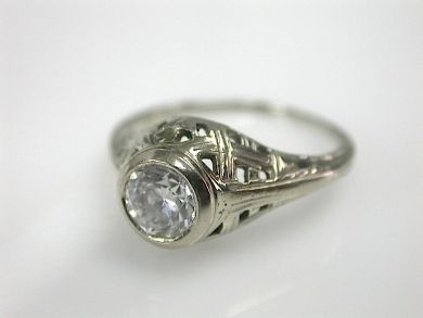 70714-March/Edwardian Diamond Ring Cynthia Findlay Antiques CFA1303109