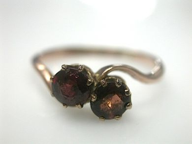70714-March/Garnet Ring Cynthia Findlay Antiques CFA1303147