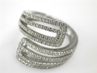 70857-March/Diamond Swirl Ring Cynthia Findlay Antiques CFA1303247