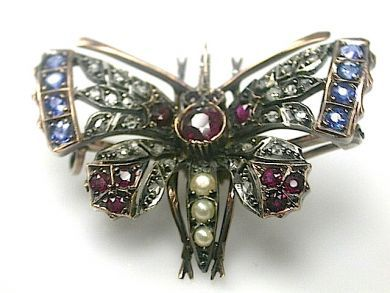 70887-March/Butterfly Brooch Cynthia Findlay Antiques CFA1303139