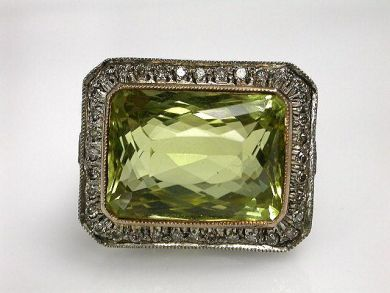 70887-March/Prasiolite Ring Cynthia Findlay Antiques CFA1208254C  2