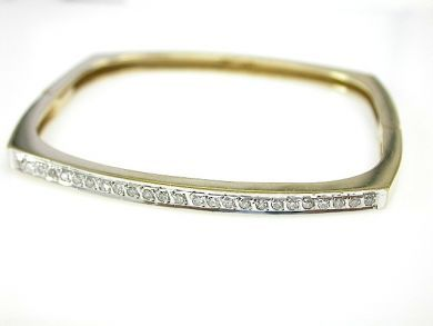 70925-April/Diamond Bangle Cynthia Findlay Antiques CFA130403