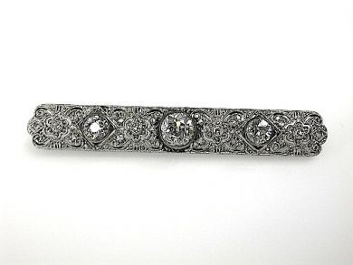 70925-April/Diamond Bar Pin Cynthia Findlay Antiques CFA1303328
