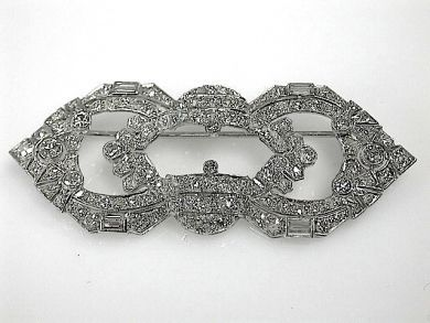 70925-April/Diamond Brooch Cynthia Findlay Antiques CFA1303330