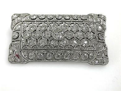 70925-April/Edwradian Diamond Brooch Cynthia Findlay Antiques CFA1303333