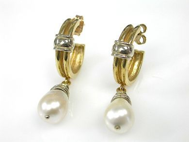 70925-April/Pearl Drop Earrings Cynthia Findlay Antiques cfa130424