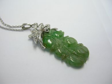 Carved Jade Pendant