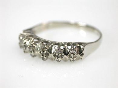 71027-April/Diamond Half Eternity Band Cynthia Findlay Antiques CFA130435