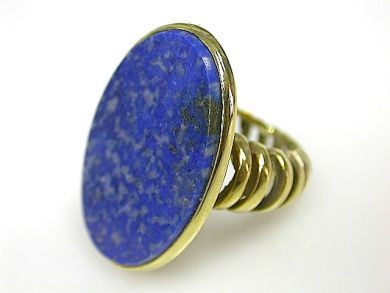 71174-April/Lapis Ring Cynthia Findlay Antiques CFA1304160