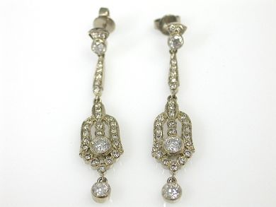 71231-May/Art Deco Style Earrings Cynthia Findlay Antiques CFA1304444