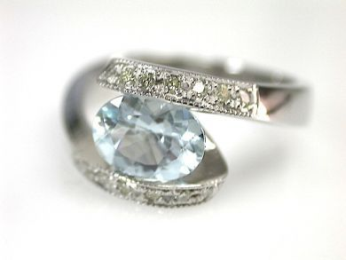 71272-July/Aquamarine Ring CFA1304425