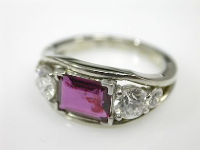 71272-July/Ruby and Diamond Ring CFA1304460