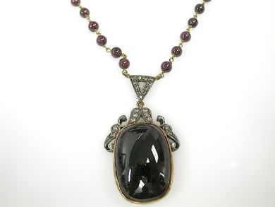 71350-May/Garnet Pendant CFA1304464