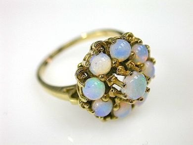 71350-May/Opal Cluster Ring CFA1304491