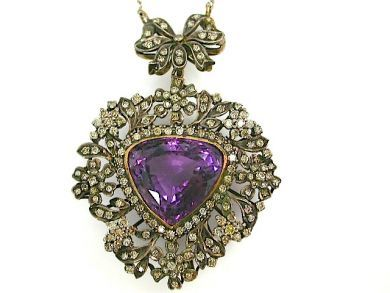 71359-May/Amethyst Pendant CFA130536