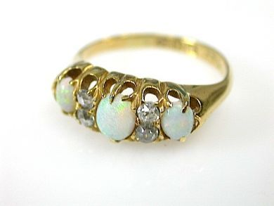 71359-May/Antique Opal Ring CFA1304488