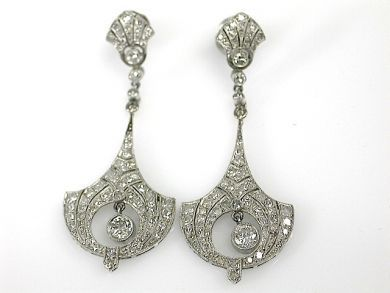 71359-May/Art Deco Earrings CFA130588