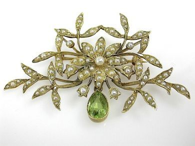 71359-May/Seed Pearl Brooch CFA130565
