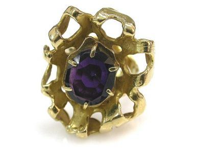 71422-May/Amethyst Ring CFA120686
