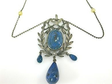 71422-May/Lapis Pendant CFA1304272