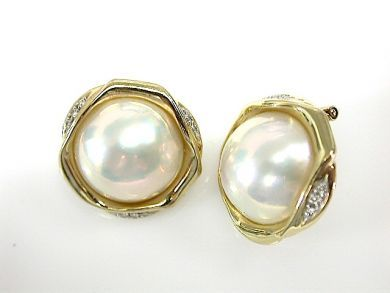 71422-May/Mabe Pearl Earrings CFA1305171