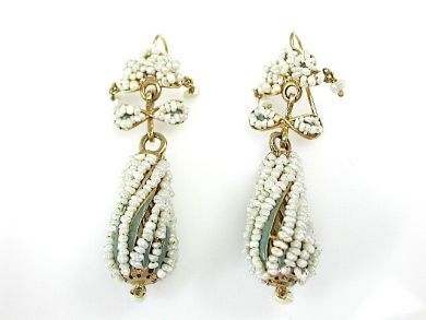 71422-May/Seed Pearl Earrings CFA1305108