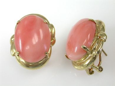 71597-May/Coral Earrings CFA130614